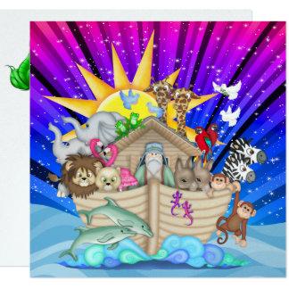 Invitación de la arca de Noah