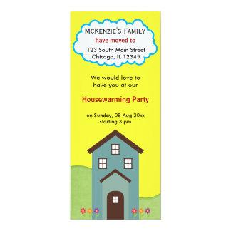 Invitación de la casa abierta
