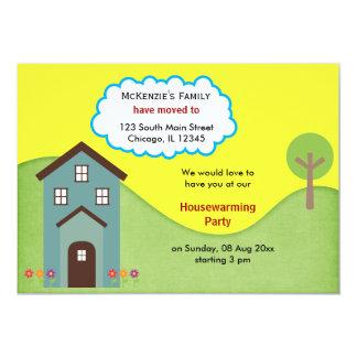 Invitación de la casa abierta invitación 12,7 x 17,8 cm