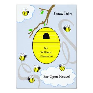 Invitación de la casa abierta de la escuela -