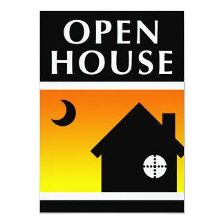 invitación de la casa abierta: hogar del estallido