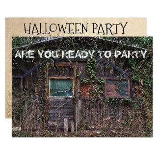 Invitación de la casa encantada del fiesta de
