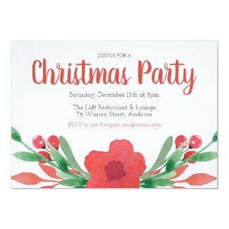 Tarjeta Invitación de la celebración de días festivos de