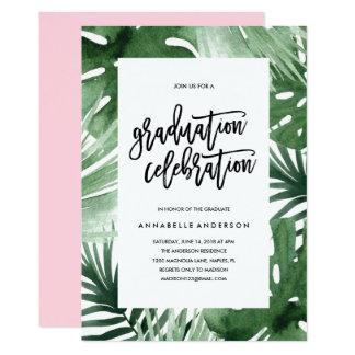 Invitación de la celebración de la graduación de