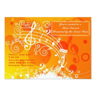 Invitación de la celebración de la música
