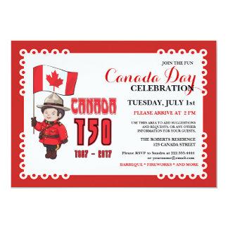 Invitación de la celebración del Bbq del día 150