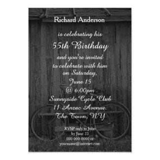 Invitación de la celebración del cumpleaños del