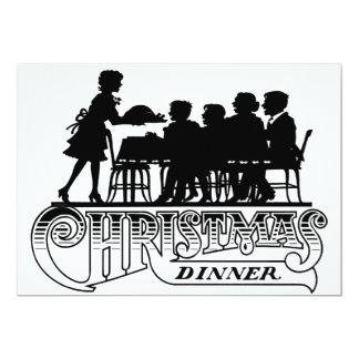 Invitación de la cena de navidad
