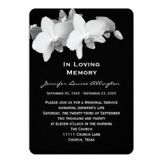 Invitación de la ceremonia conmemorativa -