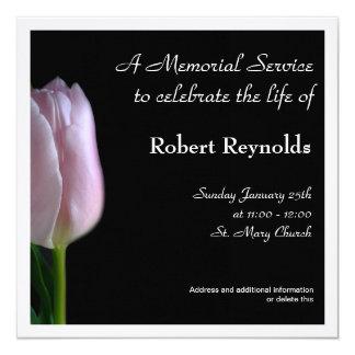 Invitación de la ceremonia conmemorativa