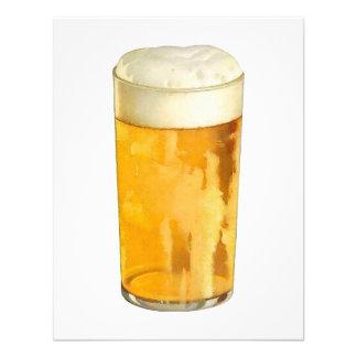Invitación de la cerveza - la cerveza personalizad
