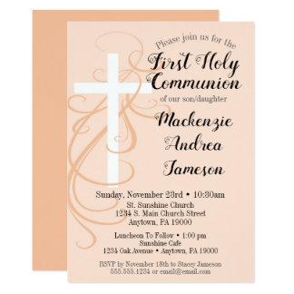 Invitación de la comunión santa de la cruz del