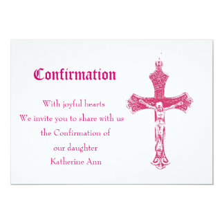 Invitación de la confirmación