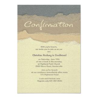 Invitación de la confirmación del filo