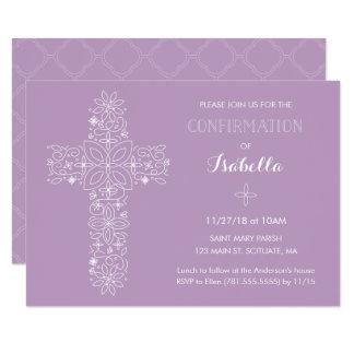 Invitación de la confirmación - el bonito invita