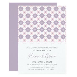 Invitación de la confirmación - el personalizado