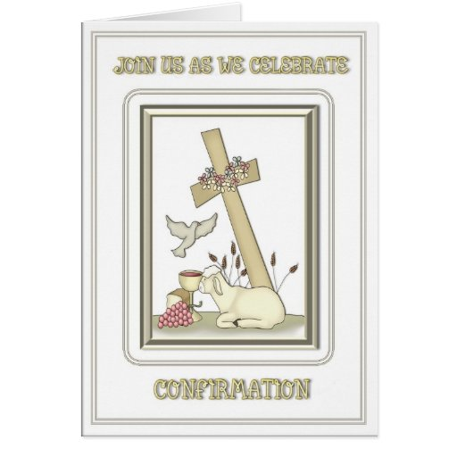Catholic Confirmation Invitations
