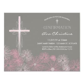 Invitación de la confirmación - invite con la