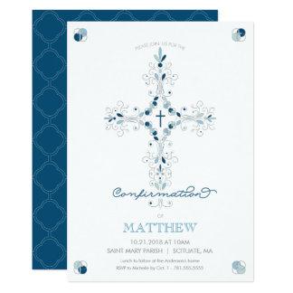 Invitación de la confirmación - la ceremonia