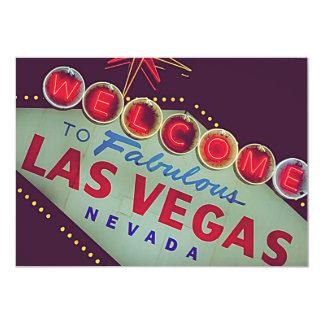 Invitación de la despedida de soltero de Las Vegas