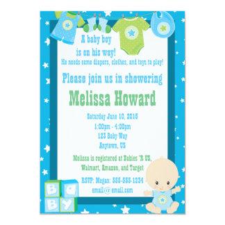 Invitación de la ducha del bebé - personalizable