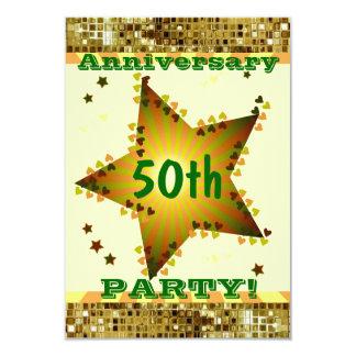 Invitación de la fiesta de aniversario de la