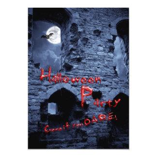 Invitación de la fiesta de barrio de Halloween Invitación 12,7 X 17,8 Cm