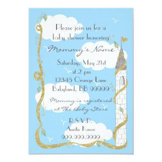 Invitación de la fiesta de bienvenida al bebé.
