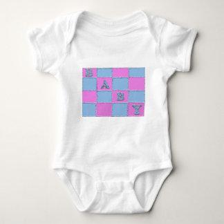 Invitación de la fiesta de bienvenida al bebé camisetas