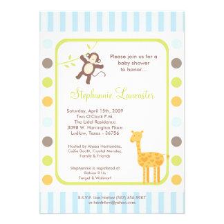 invitación de la fiesta de bienvenida al bebé de Z