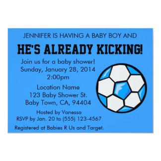 Invitación de la fiesta de bienvenida al bebé del invitación 11,4 x 15,8 cm