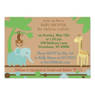 Invitación de la fiesta de bienvenida al bebé para