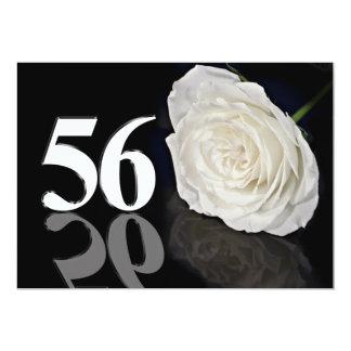 Invitación de la fiesta de cumpleaños 56 años