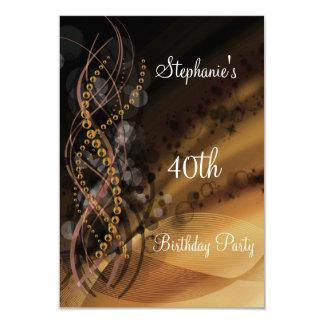 Invitación de la fiesta de cumpleaños cualquier