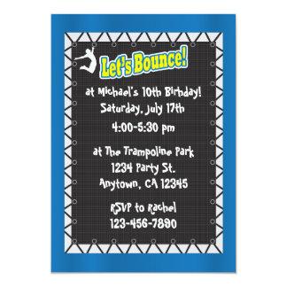 Invitación de la fiesta de cumpleaños del invitación 12,7 x 17,8 cm