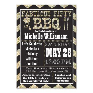 Invitación de la fiesta de cumpleaños del Bbq de