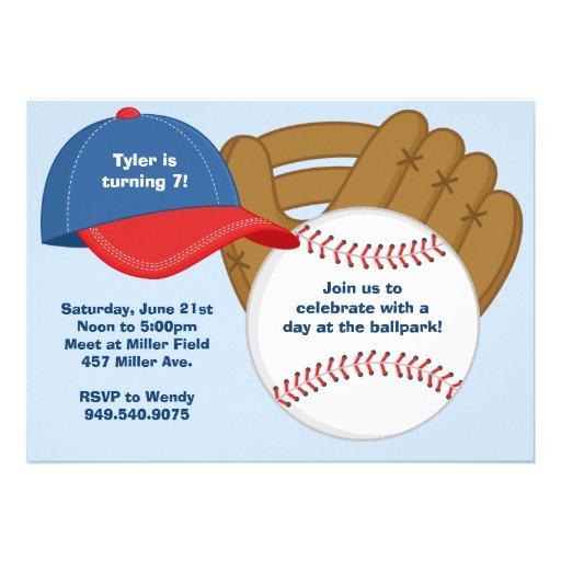 Invitaciones De Beisbol Para Cumpleaños Imagui