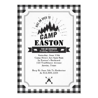 Invitación de la fiesta de cumpleaños del campo