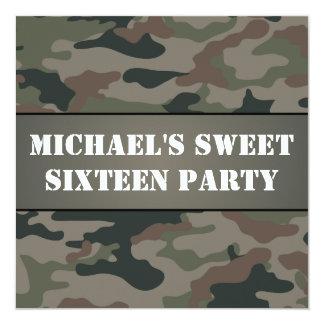 Invitación de la fiesta de cumpleaños del dulce 16