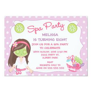 Invitación de la fiesta de cumpleaños del fiesta