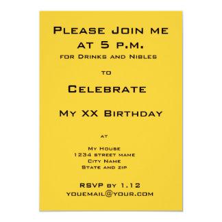 Invitación de la fiesta de cumpleaños del gato