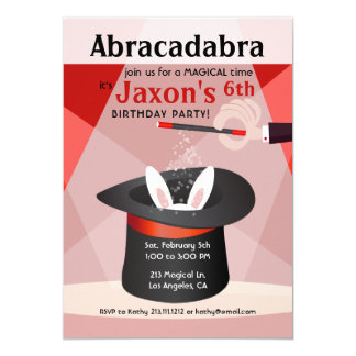 Invitación de la fiesta de cumpleaños del niño del