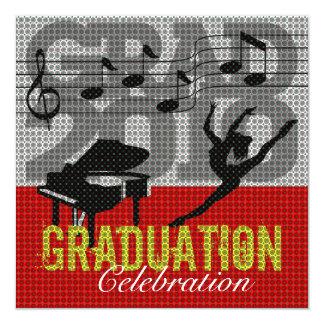 Invitación de la fiesta de graduación 2 de las invitación 13,3 cm x 13,3cm