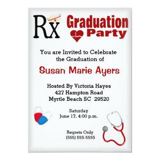 Invitación de la fiesta de graduación de la