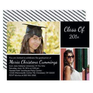Invitación de la fiesta de graduación del escolar