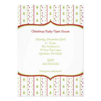Invitación de la fiesta de Navidad de la MOD con