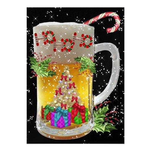 Invitación de la fiesta de Navidad por SRF