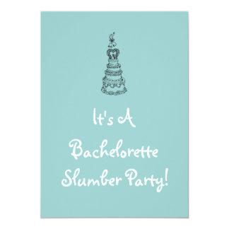 Invitación de la fiesta de pijamas de Bachelorette