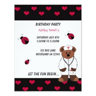 Invitación de la fiesta del cumpleaños de la