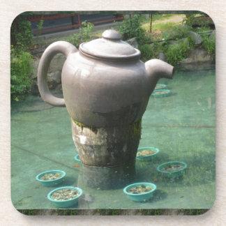 Invitación de la fiesta del té:  Parque chino del  Posavaso